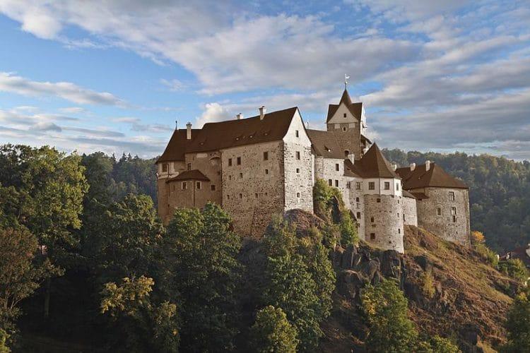 Замок Локет - достопримечательности Карловых Вар
