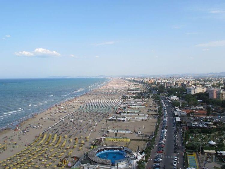 Пляжи Римини - достопримечательности Римини