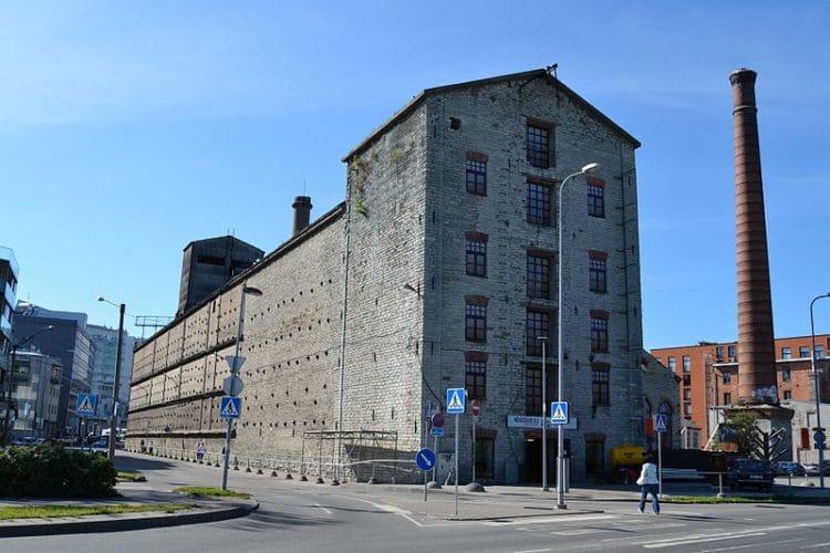 Квартал Ротерманн - достопримечательности Таллина