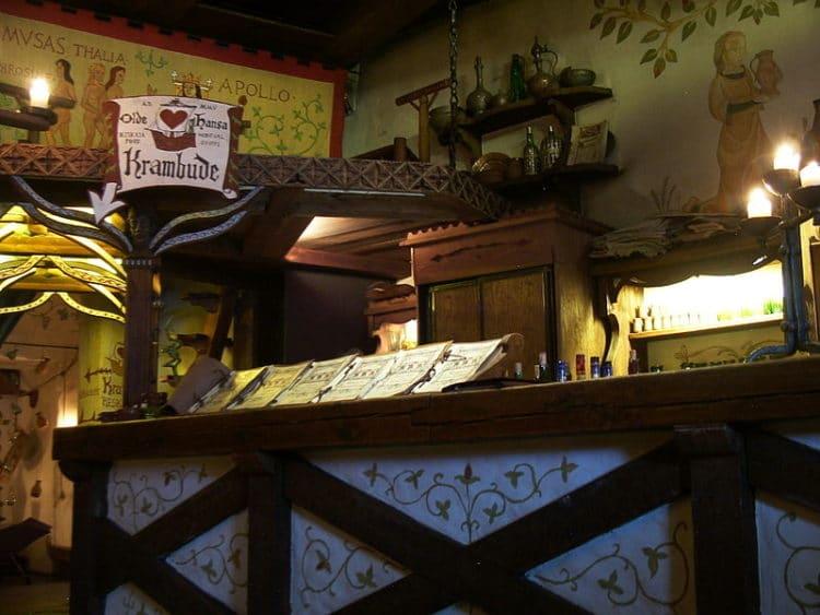 Ресторан Olde Hansa - достопримечательности Таллина