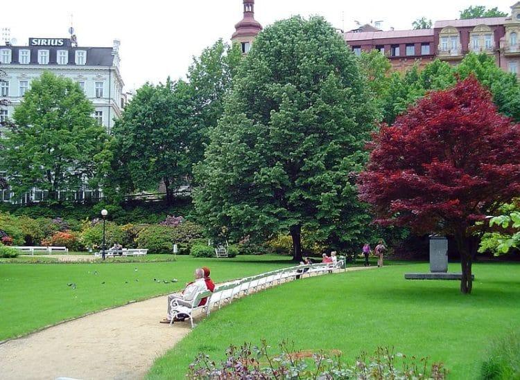 Дворжаковы сады - достопримечательности Карловых Вар