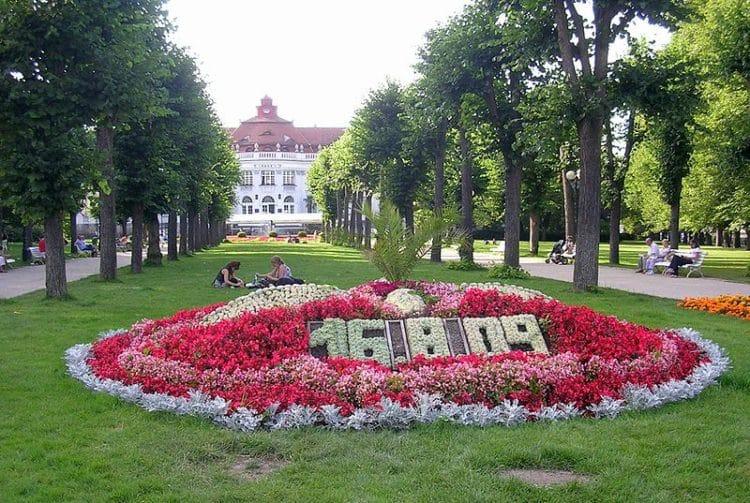 Сметановы сады - достопримечательности Карловых Вар