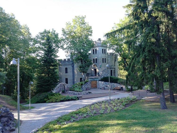 Замок Глена - достопримечательности Таллина