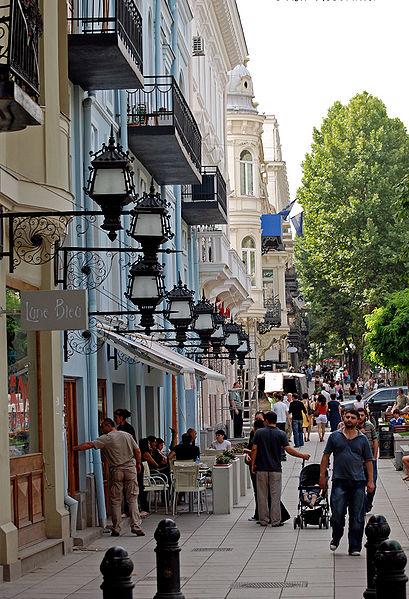 Проспект Руставели - достопримечательности Тбилиси