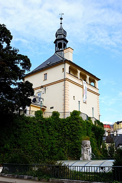 Замковая башня - достопримечательности Карловых Вар