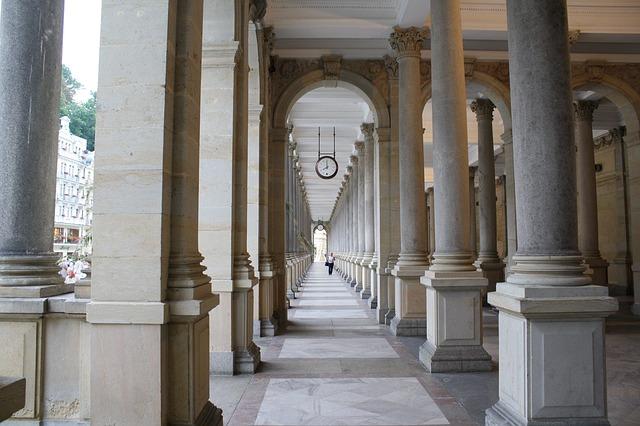 Мельничная колоннада - достопримечательности Карловых Вар