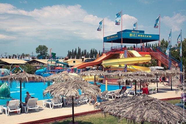 Аквапарк Aqualand - достопримечательности Корфу
