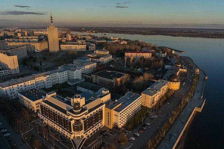Самые красивые города России - Архангельск
