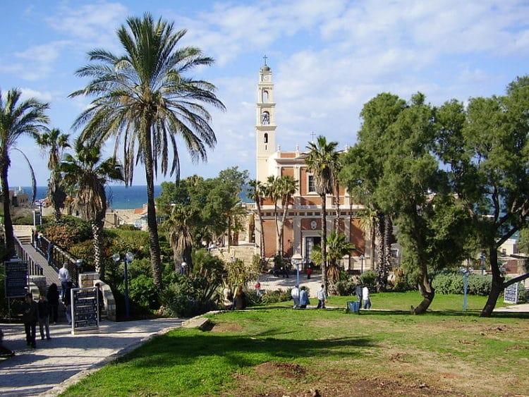 Католическая церковь святого Петра - достопримечательности Тель-Авива