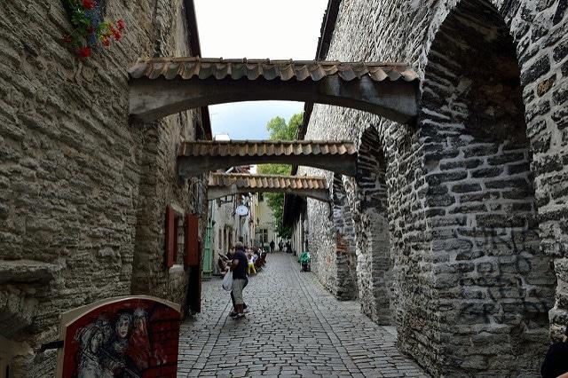 Переулок Катарины - достопримечательности Таллина