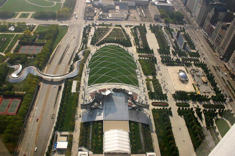 Миллениум-парк - достопримечательности Чикаго