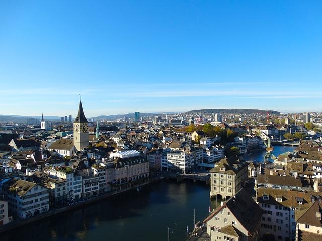 Старый город - достопримечательности Цюриха