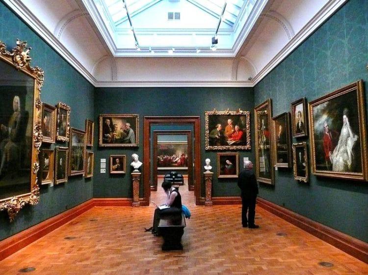 Лондонская национальная галерея - достопримечательности Лондона, Англия, Великобритания