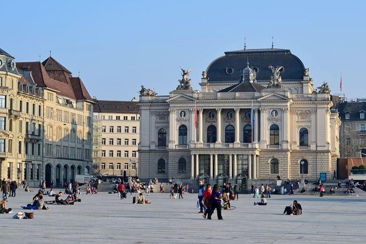 Цюрихский оперный театр - достопримечательности Цюриха
