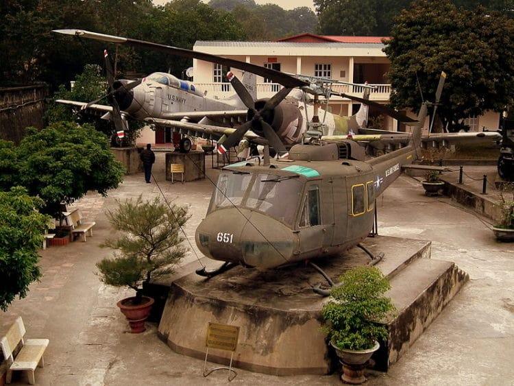 Вьетнамский музей военной истории - достопримечательности Ханоя