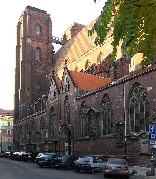 Собор Святой Марии Магдалины - достопримечательности Вроцлава