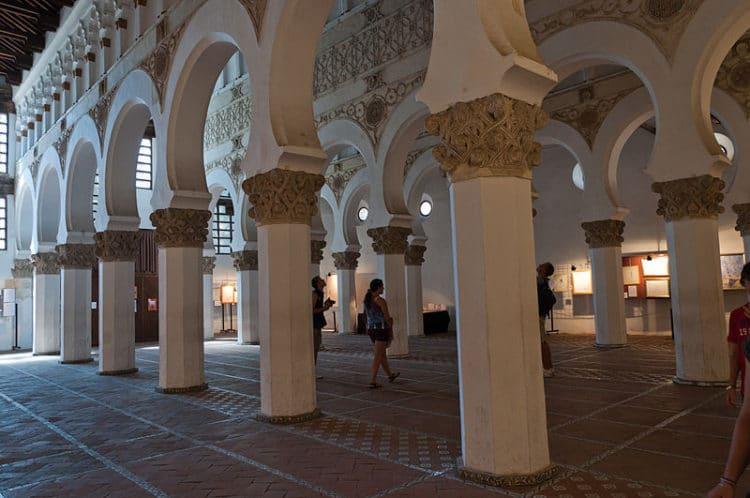 Синагога Санта Мария ла Бланка - достопримечательности Толедо