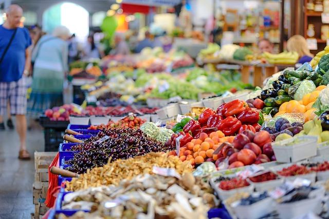 Центральный рынок - достопримечательности Гагры