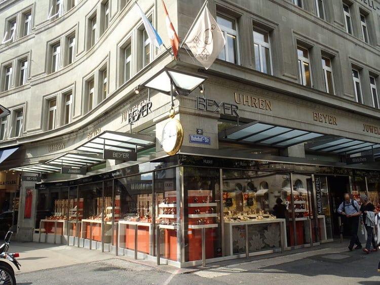 Часовой музей Бейера - достопримечательности Цюриха