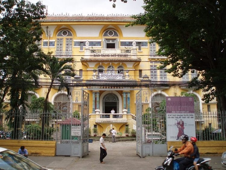 Музей изобразительного искусства - достопримечательности Хошимина
