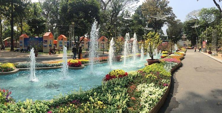 Парк Тао Дан - достопримечательности Хошимина