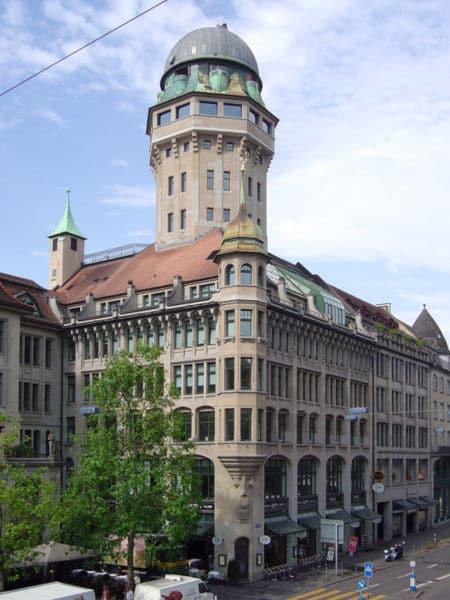 Обсерватория Урания - достопримечательности Цюриха