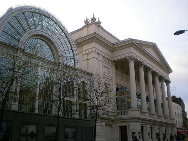 Королевский театр Ковент-Гарден - достопримечательности Лондона. Англия, Великобритания