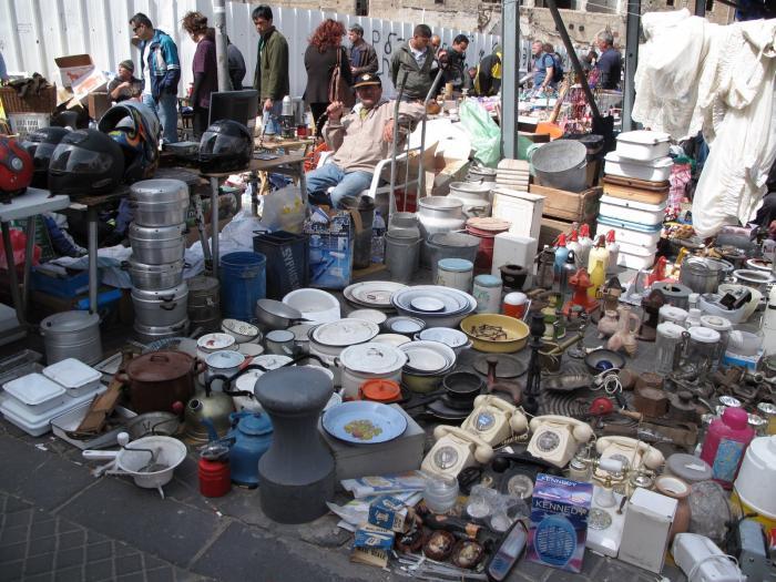 Блошиный рынок в Яффо - достопримечательности Тель-Авива