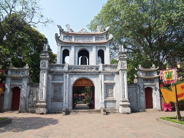 Храм литературы - достопримечательности Ханоя