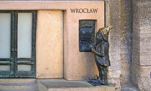Вроцлавские гномы - достопримечательности Вроцлава