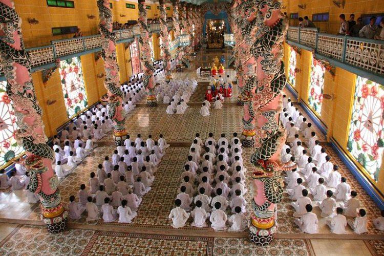 Храмовый комплекс Каодай - достопримечательности Хошимина