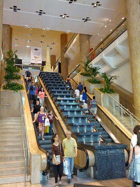 Торговый центр Water Tower Place - достопримечательности Чикаго