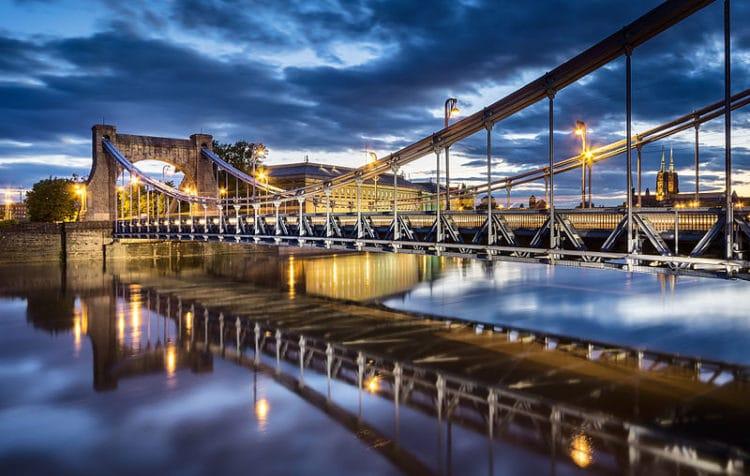 Грюнвальдский мост - достопримечательности Вроцлава
