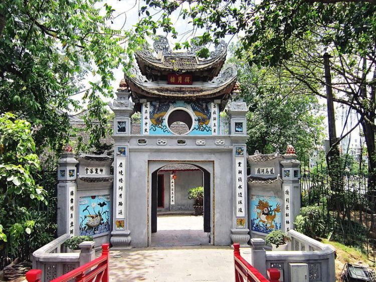 Храм Нефритовой горы - достопримечательности Ханоя