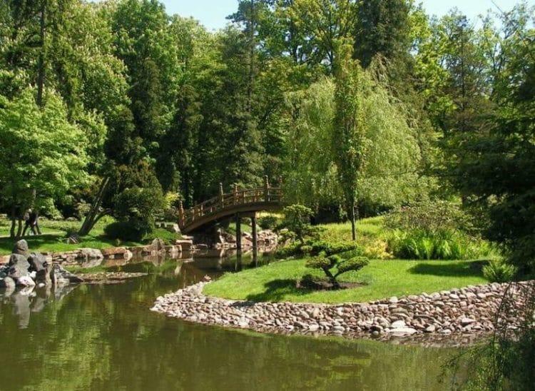 Японский сад - достопримечательности Вроцлава