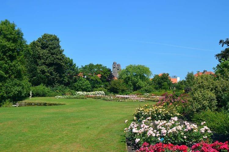 Парк Вестбрук - достопримечательности Гааги