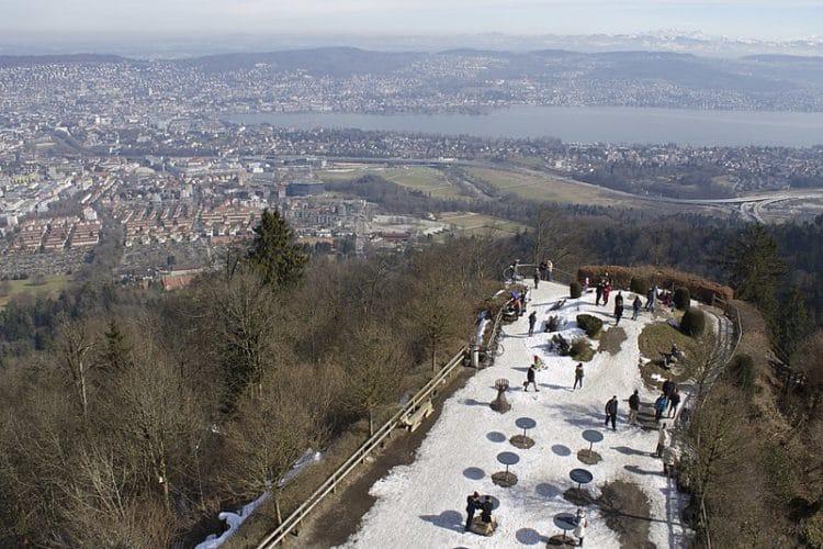 Гора Утлиберг - достопримечательности Цюриха