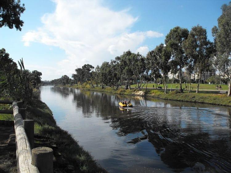 Река и парк Яркон - достопримечательности Тель-Авива