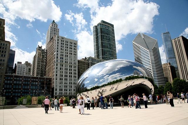 Клауд-Гейт - достопримечательности Чикаго