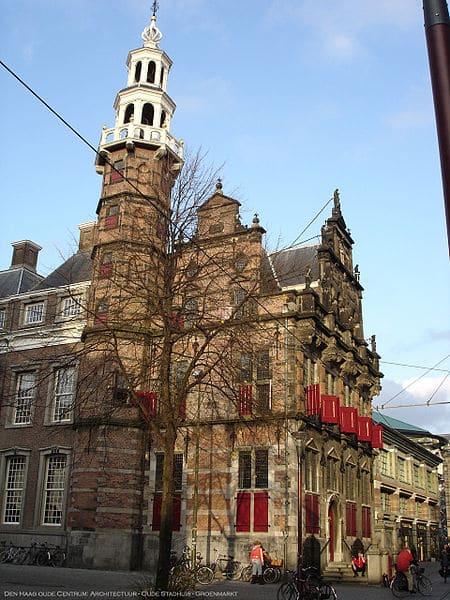 Старая ратуша - достопримечательности Гааги
