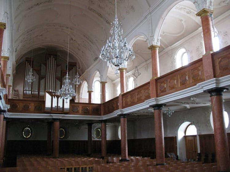 Церковь Святого Петра - достопримечательности Цюриха
