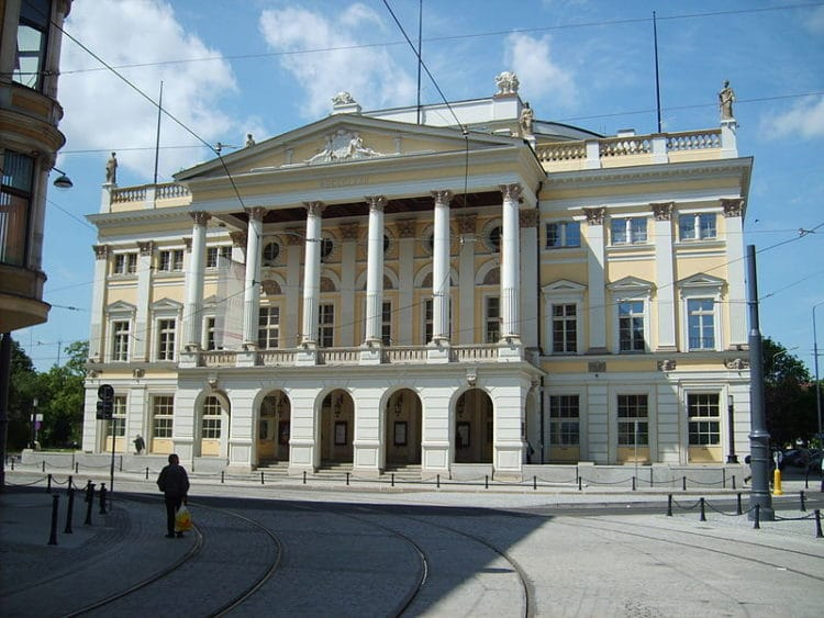 Вроцлавская опера - достопримечательности Вроцлава