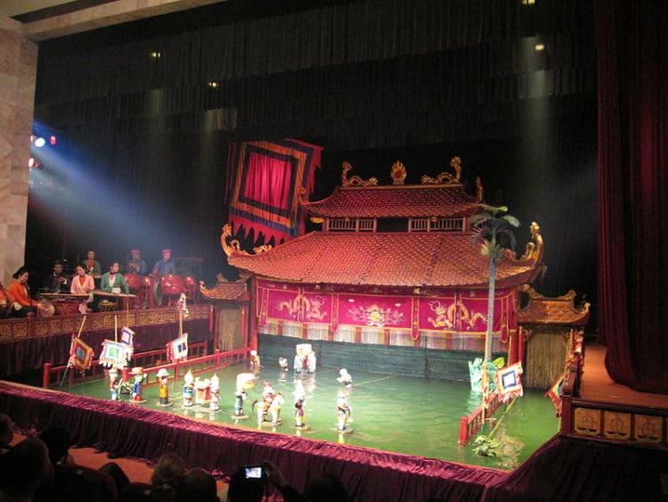 Кукольный театр на воде - достопримечательности Ханоя