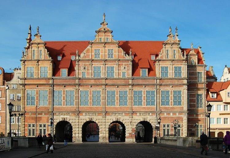 Зелёные ворота - достопримечательности Гданьска