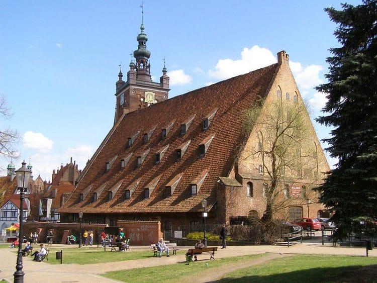 Большая мельница - достопримечательности Гданьска