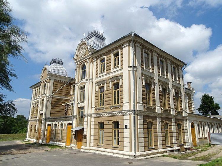 Большая хоральная синагога - достопримечательности Гродно