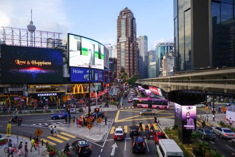 Букит Бинтанг в Малайзии