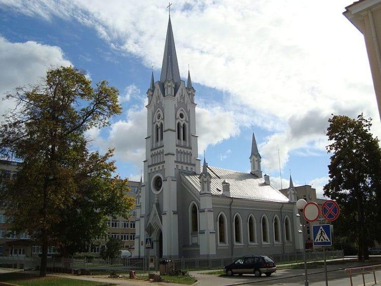 Лютеранская церковь - достопримечательности Гродно