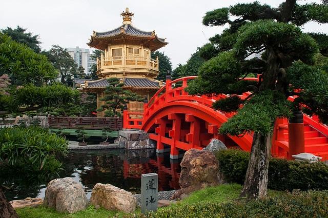 Сад Нан Лиан в Китае