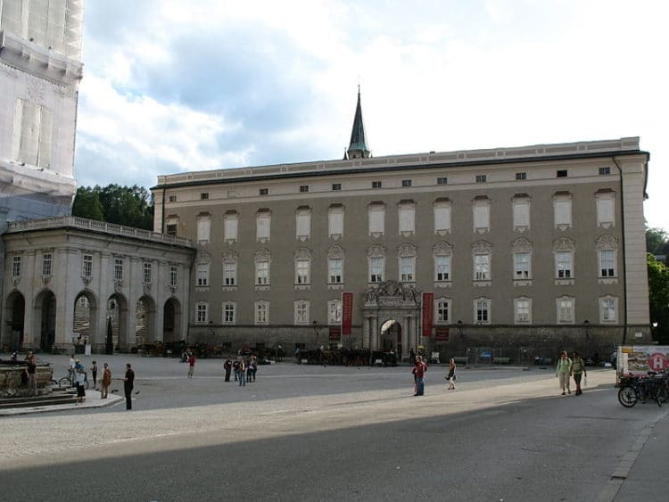 Резиденции Архиепископа - достопримечательности Зальцбурга